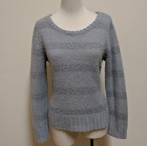 3FOR$20 Apt.9 sweater gray silver size L